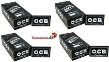 10000 Cartine Corte Doppie Ocb Nero Black 4 Box Da 25 Libretti Di 100 Cartine