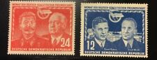 Germany DDR 1951 SC92&93 Mint Hinged very fine