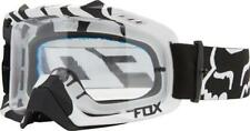 Fox Goggle Air Defence Zebra Black With Clear Lens Super Sale Was $129.00
