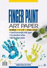"""Pacon Fingerpaint Paper - 50 Sheet - Unruled - 11"""" X 16"""" - 50 / Pack - (73610)"""