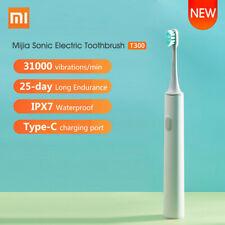 Xiaomi mijia Escova De Dentes Elétrica ultrassônica T300 Usb Recarregável Prova D 'água Au ~