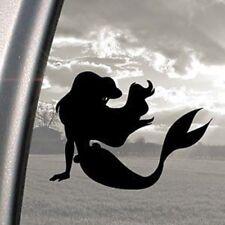 Disney Black Decal Little Mermaid Ariel Window Sticker Car  Laptop Free P&P