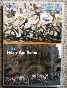 2005 Paris Nice Milan San Remo World Cycling Productions 2 DVD set Very Clean