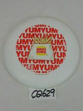 BURGER KING VINTAGE ADVERTISING FRISBEE FLYING DISC YUMMY FRIES-1980'S