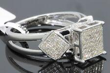 53 Quilates Mujer Acabado Oro Blanco Diamantes Boda Anillo