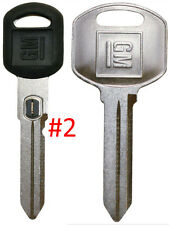 NEW GM OEM D. Sided VATS Ignition Key #2 + Doors/Trunk OEM Key - MADE IN USA
