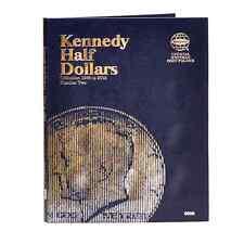 Coin Folder Kennedy Half Dollars 1986 - 2003 Set - Whitman Album 9698 Official
