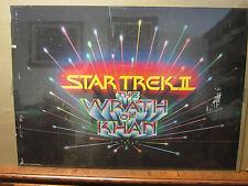 Vintage Startrek II The Wrath of Khan Poster 1976  540