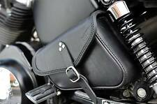 SADDLE BAG  HARLEY DAVIDSON SPORTSTER 883 ,1200 MODELS ITALIAN LEATHER QUALITY