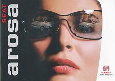 Seat Arosa folleto 5 03 brochure 2003 auto turismos auto folleto folleto España