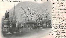 Newport,R.I.Touro Park,Private Mailing Postcard,c.1898-1906