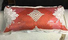 Genuine Vintage Moroccan Kilim Berber Pillow Beautiful! Anthropologie