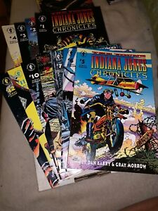 Indiana Jones Chronicles  # 1-8, #10-12 (1992) Dark Horse Comics