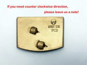 Clockwise PCD Scraper Epoxy Glue Paint Coating Mastic Removal For Lavina Edco