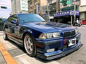 CARBON FRONT LIP SPOILER R STYLE FOR BMW E36 M3 M TECH M-TECH M SPORT ONLY