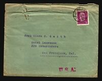 Germany Mi# 428EF On Cover / Creasing At Top  - Z15631