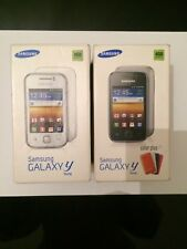 Samsung Galaxy y (young) GT-S5360 empty boxes with trey and manuels