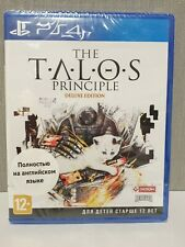 The Talos Principle: Deluxe Edition (PlayStation 4, PS4) Brand New