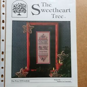 Sweetheart Tree, The Price of Freedom, Cross Stich Chart
