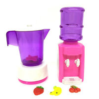 Kid Doll Liquidizer Furniture Water dispenser For Doll House Baby Toys Gift B.AU