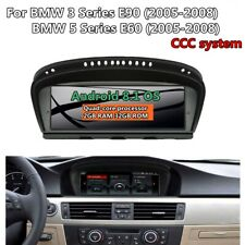 "8.8"" Android 8.1 Car NO DVD GPS Player For BMW 3  E90/5 E60 2005-2008 CCC WIFI"