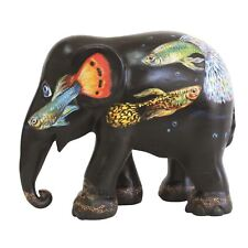 More details for elephant parade ornament collectable limited edition peacock fish 10cm