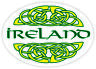 Irish Celtic Knot Ireland Car Bumper Window Oval Sticker Decal Vinyl