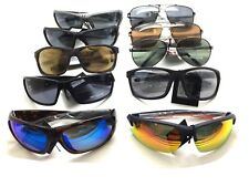 Harley Davidson Sunglasses wholesale lot metal plastic sports shield Aviator