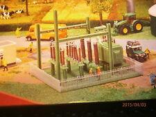 Faller kleines Umspannwerk mit Schaltanlage und Isolatoren Bausatz NEU