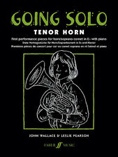 Going Solo (Tenor Horn And Piano) Wallace, J & Pearson, L Tenor Horn And Piano A