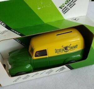 ERTL John Deere 1950 Chevy Panel Delivery Truck Die-Cast Bank #5621 NIB