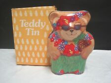 Teddy Tin by Giannini, Summertime version