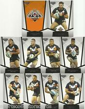 2015 NRL ELITE WESTS TIGERS COMMON BASE TEAM SET 10 CARDS esp