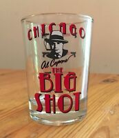 Al Capone, Chicago Big Shot, 4 0z. Shot Glass