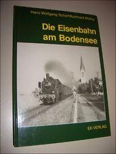 Die Eisenbahn am Bodensee - Scharf / Wollny Friedrichshafen, Lindau, Ravensburg