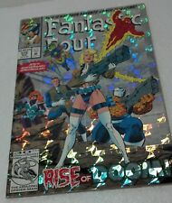 April 1993 Marvel 375th anniversary Spectacular FANTASTIC FOUR (foil) #375 NM/VF