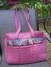 ecbf585edc Vera Bradley Pink Pansy Diaper Bag~Large Tote