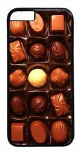 Cute Box of Chocolates Case iPhone 4 4S 5 5S 5C 6 6+ TPU Rubber or Hard Cover