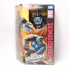 Transformers Kingdom Optimus Primal -  Voyager Class War for Cybertron Complete