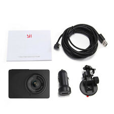 Wifi Xiaomi YI Dash Camera 1080P Car DVR Video Recorder Cam Support App wBracket