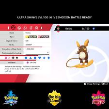 Raichu (Alola)   Ultra Shiny   HA   6IV   Pokemon Sword & Shield