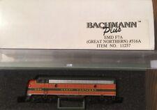 "Bachmann Plus ""N"" Scale #316A Great Northern Diesel Locomotive"