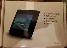 MicroTab PMID4301 4.3 Touchscreen Android 4.0 Tablet/WORKS/SEE DESCRIPTION