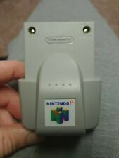 Official Nintendo 64 N64 OEM Rumble pak Pack Controller Shaker TESTED Complete