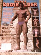 MUSCLE & BODYBUILDER, bodybuilding magazine,July 1983 ,Very Good!!!