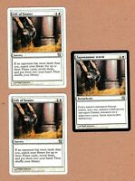 MTG - 3X Gift of Estates X3 - 9th Edition - Unc 2 NM & 1 VF/EX - 3 Cards