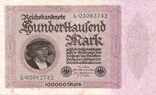1922 5.000 Mark Banknoten f/ür Sammler Wasserzeichen Hakensterne bankfrisch I Deutsches Reich Rosenbg: 80a