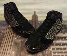 Nike Air Jordan XX3 23 Trophy Room Black/Metallic Gold-Grey Size 12 853336 023
