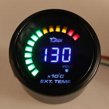 2''52mm LED Digital Auto Car EGT Sensor Exhaust Gas Temp Temperature Gauge Meter