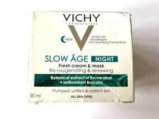 Vichy Slow Age NIGHT - Fresh Cream & Mask - Re-Oxygenating & Renewing - 50ml